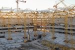 The Stadium Roof has been fully installed in Rostov-on-Don